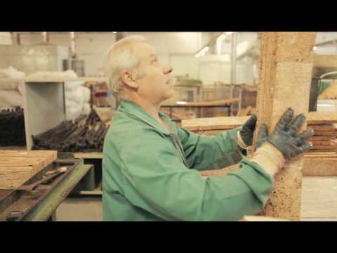 Wicanders Cork promotional, How Cork veneers are made