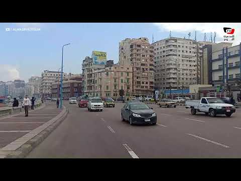 عودة الحياة إلى طبيعتها في الإسكندرية بعد انتهاء موجة الطقس الشديدة
