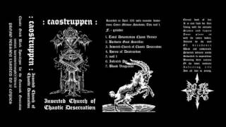 Caostruppen (Italy) - Inverted Church of Chaotic Desecration (Demo) 2011