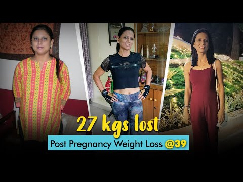 Post Pregnancy Weight Loss: 27Kgs In 6 Months | Fat To Fit | Fit Tak