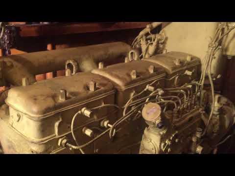 Ходовые испытания двигателя 8NVD 36 A1-U (SKL)