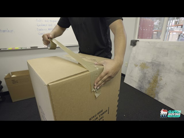 How to Tape a Box