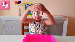 EXPERIMENTO!!! El agua que no cae del vaso EXPERIMENTOS CASEROS PARA NIÑOS