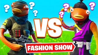 Fortnite | Fashion Show! FISHSTICK SKINS ONLY! *BEST* FISHSTICK WINS! [5/8]