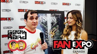 2017 FAN eXpo Canada | Geek Hard Interview - Part 2 (02.09.17)