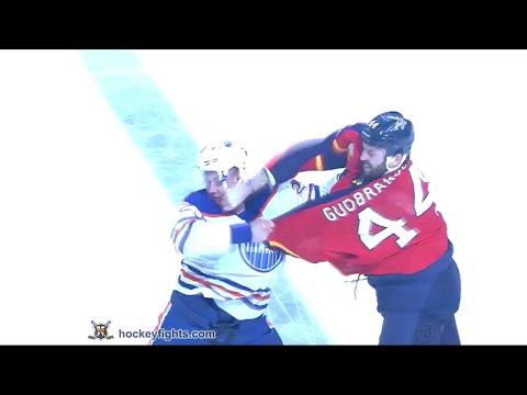 Matt Hendricks vs Erik Gudbranson