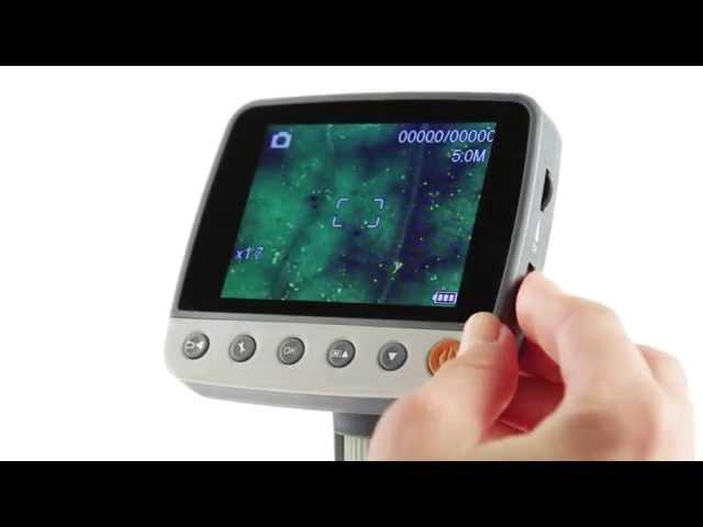Celestron InfiniView LCD 5MP Microscope - 44360