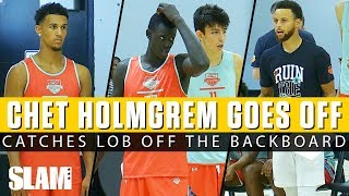 Chet Holmgren OFF THE BACKBOARD + Jalen Suggs WINDMILL! SC30 Select Camp Day 2 Highlights