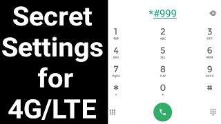 Secret Settings to Open 4G/LTE in and android phone. How to open 4G/LTE on your android smartphone.