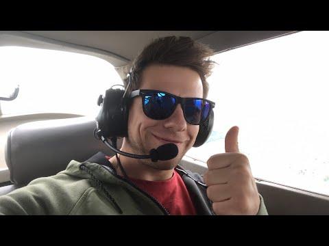 Živě z letadla