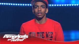 """Kid The Wiz - Hat Trick Dancing to Chris Brown's """"Fine China"""" - America's Got Talent 2013"""