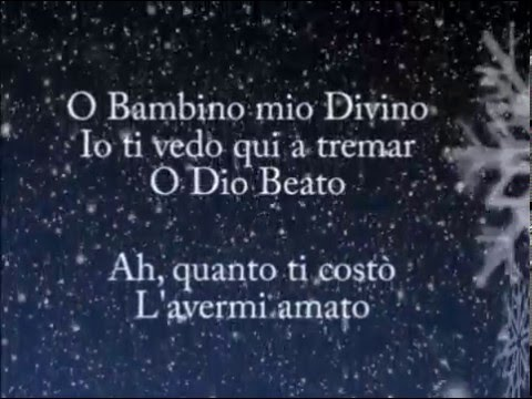 , title : 'Tu scendi dalle stelle / Lyrics'