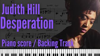 Desperation (Judith Hill) - Backing track w/score