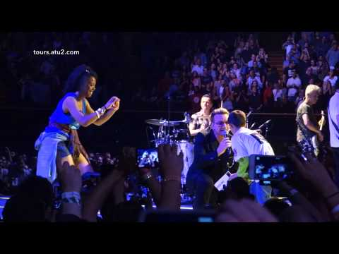U2 - Angel Of Harlem (HD) - Los Angeles 4, May 31, 2015
