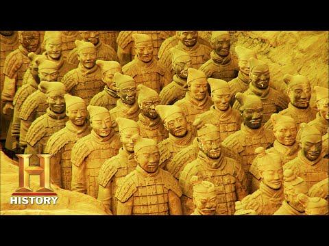 Overblijfselen van China's eerste keizer Ontgrendel de geheimen van het hiernamaals
