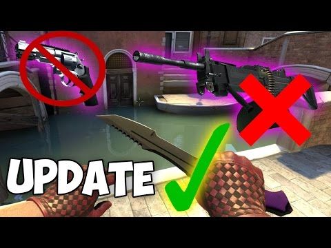 New Knife FIXED! Negev & R8 Removed + Changed? (CS:GO Update)