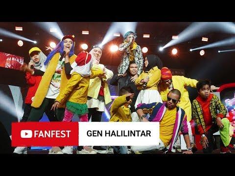 Download GEN HALILINTAR @ YouTube FanFest Jakarta 2018 HD Mp4 3GP Video and MP3