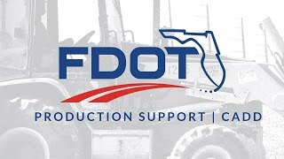 FDOT Civil 3D 2017 Proposed Design Profiles