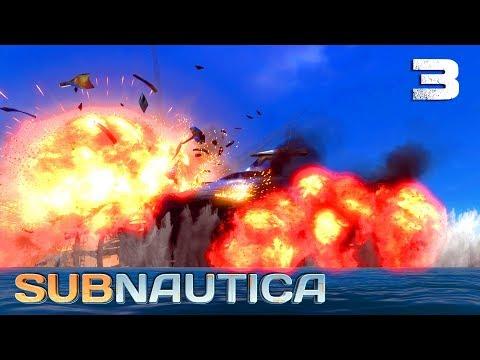 Výbuch - Subnautica S4 - Díl 3 - Nakashi