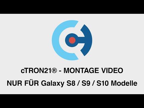 cTRON21® - TPU-Folie Montageanleitung für Galaxy S8 / S9 / S10 Modelle - ct-vm001