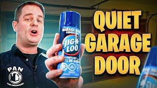 How To Lubricate Your Garage Door !! (QUICK & EASY)