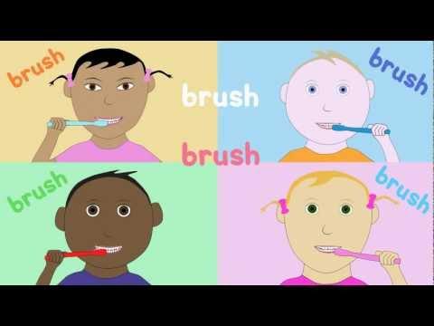 Limba engleza pentru copii - Spalati-va pe dinti