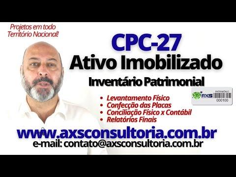 Inventário Patrimonial - CPC-27 Avaliação Patrimonial Inventario Patrimonial Controle Patrimonial Controle Ativo