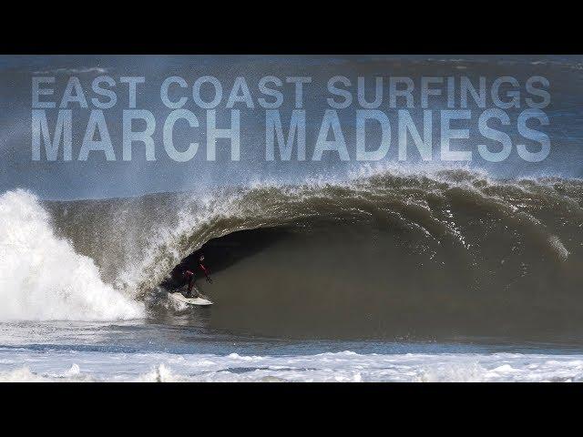 MARCH Madness of EAST COAST Surfing  |  Brett Barley