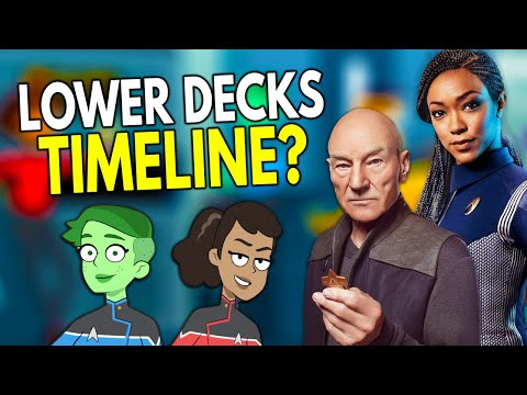 Where Does Lower Decks Take Place In The STAR TREK Timeline? – Star Trek: Explained