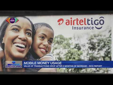 Value of mobile money transactions drop after 6 months of increase - BOG report | Business Dashboard