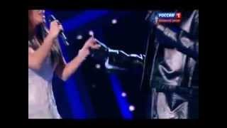 Ани Лорак, Ф.Киркоров и А. Лорак в праздничном шоу Юдашкина 8.03.2013