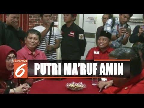 Putri Ma'ruf Amin Daftarkan Diri Jadi Bakal Cawalkot Tangerang