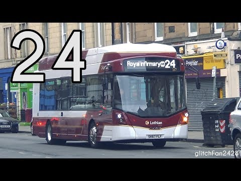 [LRT] Electric - 287 SK67 FLF on Route 24 - WrightBus StreetAir