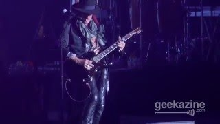 Joe Perry Playing Monster Cable CES 2016 Michael Jackson Tribute