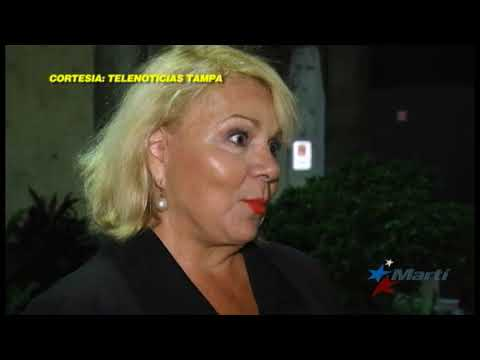 Exiliados cubanos protestan por visita oficial de funcionarios de EEUU a Cuba