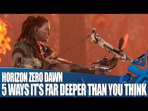 Horizon Zero Dawn - 5 Ways It's Far Deeper Than You Think