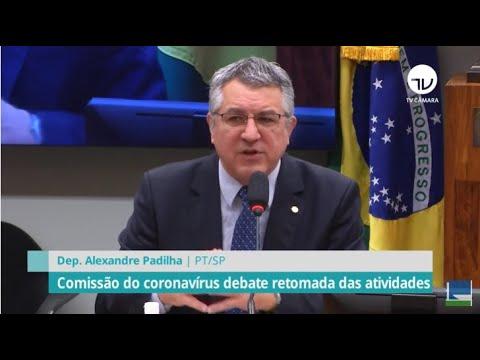 Comissão do coronavírus debate retomada das atividades - 17/06/20