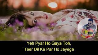 Is pyaar se meri taraf karaoke with synced lyrics - YouTube