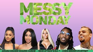 DRAMA ALERT! Chris Brown vs Offset, Nicki Minaj, Cardi, Ariana | MessyMonday
