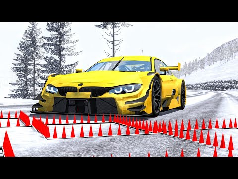 Massive Spike Strip Pileup Crashes #54 – BeamNG Drive | CrashBoomPunk
