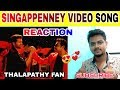 Bigil - Singappenney Video Song REACTION | Thalapathy Vijay, Nayanthara | A.R Rahman