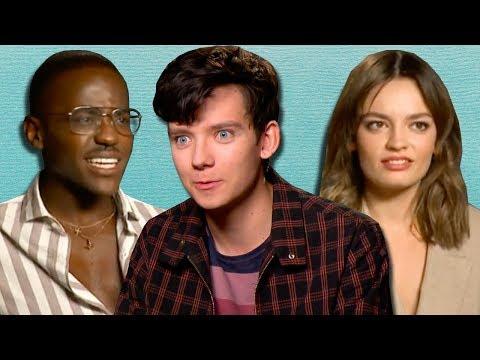 Netflix's 'Sex Education' Cast Spill Their Secrets From School   PopBuzz Meets