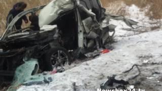 Появилось видео с регистратора участника жесткого ДТП в Штыково