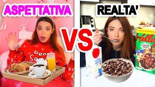 ASPETTATIVA VS REALTÀ MORNING ROUTINE