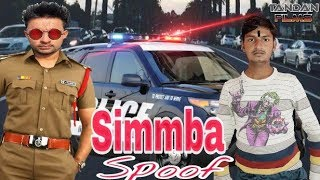 Simmba New Movie Spoof    simmba official Trailer Ranveer Singh, Sara Ali khan   Tandon Films