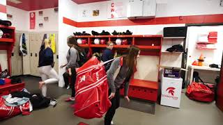 Stanstead Girls Hockey Practice Day