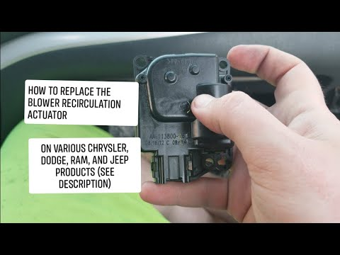Download 2012 Dodge Avenger Blend Air Actuator Video 3GP Mp4 FLV HD