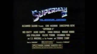 Trailer of Superman II (1980)