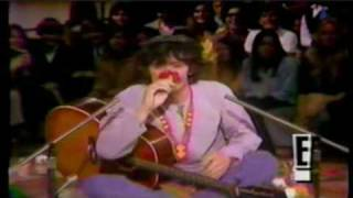 "Donovan  sings ""Lalena"" and  ""Happiness Runs"" 1968"