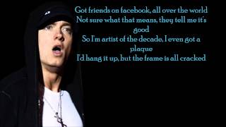 Eminem - So Far...  (Lyrics) (HD) (Explicit)